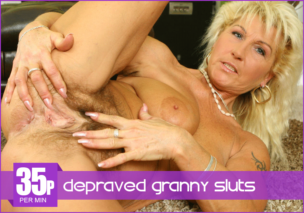 Filthy Granny Phone Sex Online